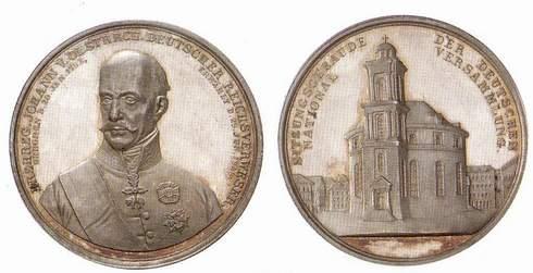 Frankfurter Paulskirche Wird Auf Neuer Zwei Euro Münze Dargestellt